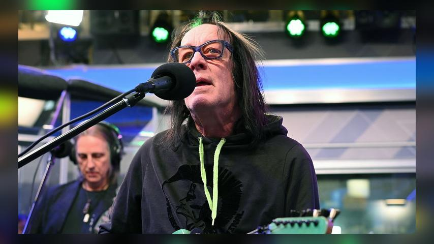 MARCH 22: (EXCLUSIVE COVERAGE) Musician Todd Rundgren performs at SiriusXM Studios on March 22, 2019 in New York City. (Photo by Slaven Vlasic/Getty Images)