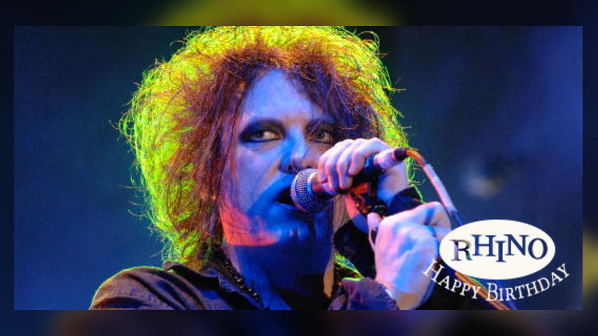 Here's a Robert Smith six-pack for the Cure singer's birthday