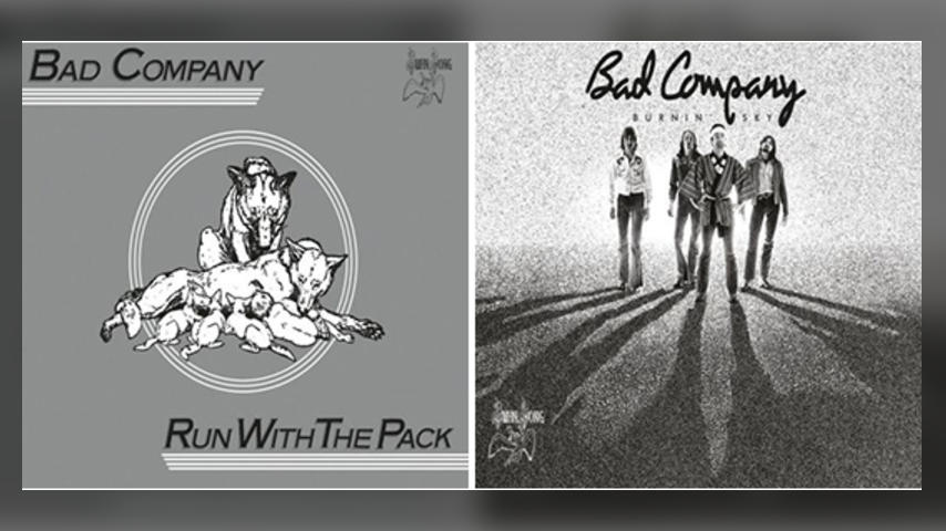 Out Now: Bad Company, RUN WITH THE PACK / BURNIN' SKY Deluxe Editions