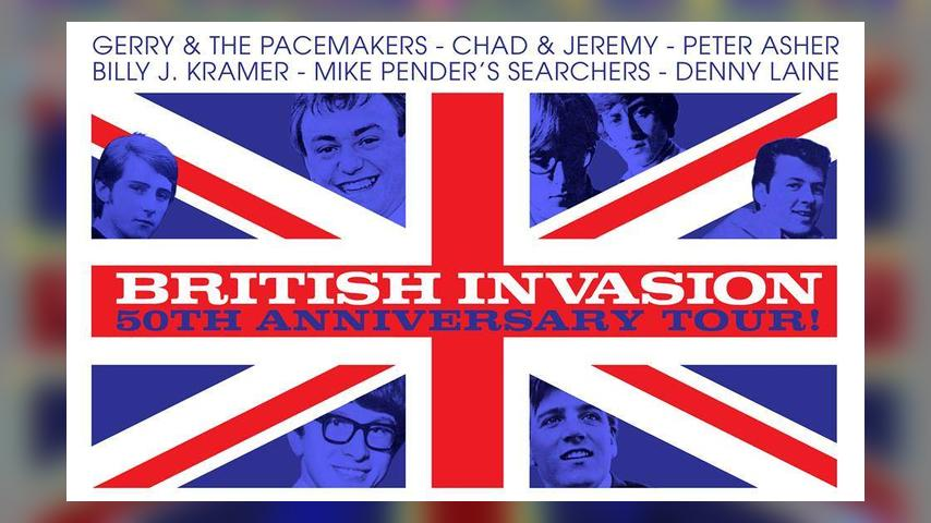 The Return of Rock Royalty: The British Invasion 50th Anniversary Tour
