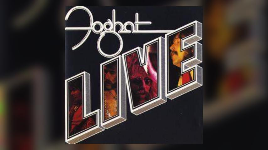 Happy Anniversary: Foghat, Live