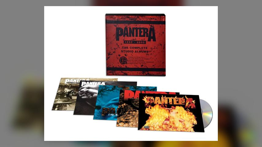 Now Available: Pantera, The Complete Studio Albums 1990-2000