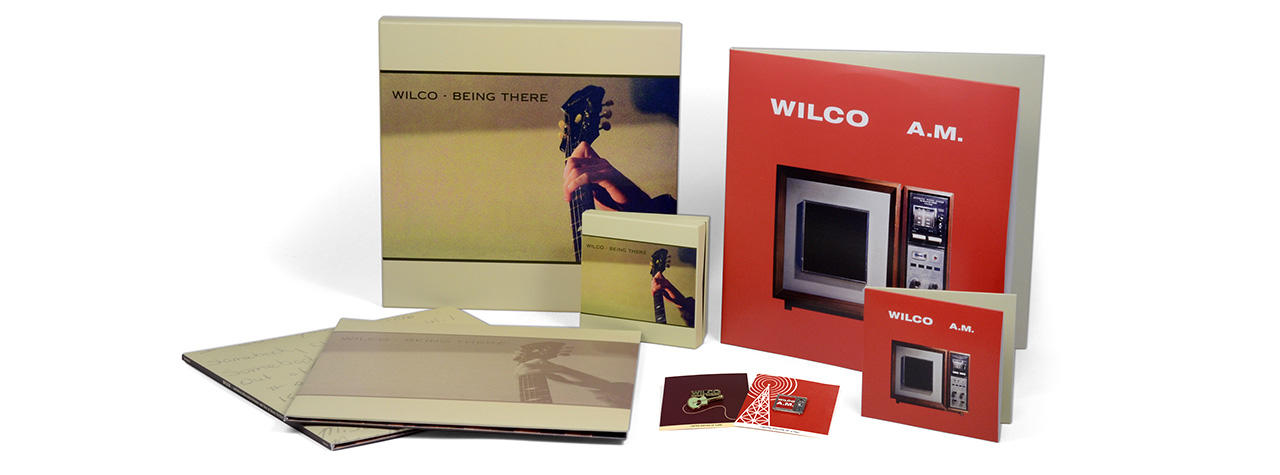 Enamel Pin Gift with Wilco Reissues At Your Local Record