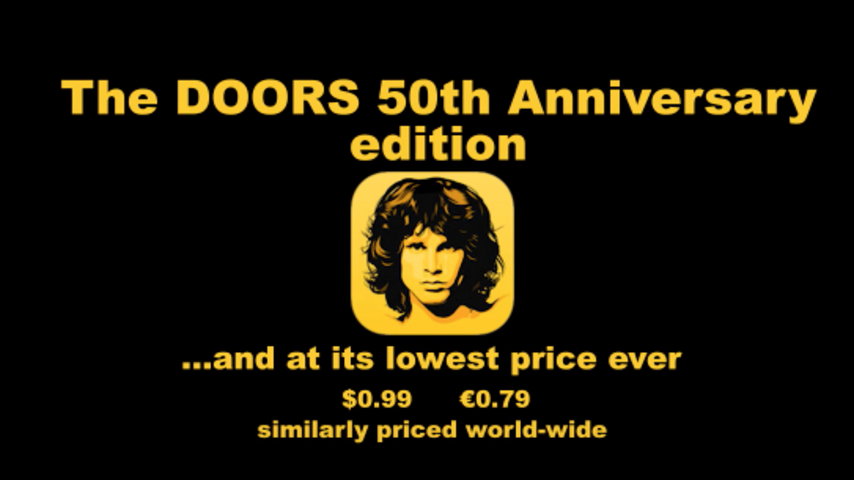The Doors - The Doors App [Official Promo Video]