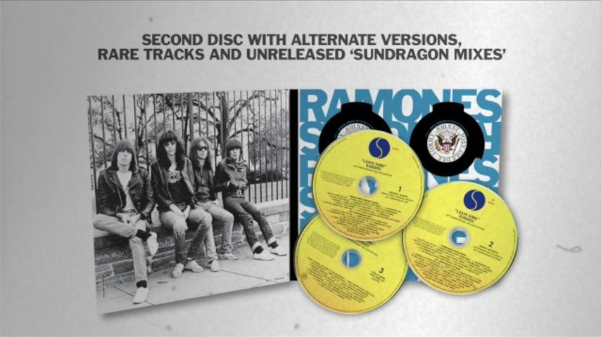 RAMONES – 'LEAVE HOME' 40TH ANNIVERSARY (DELUXE EDITION) [OFFICIAL UNBOXING]