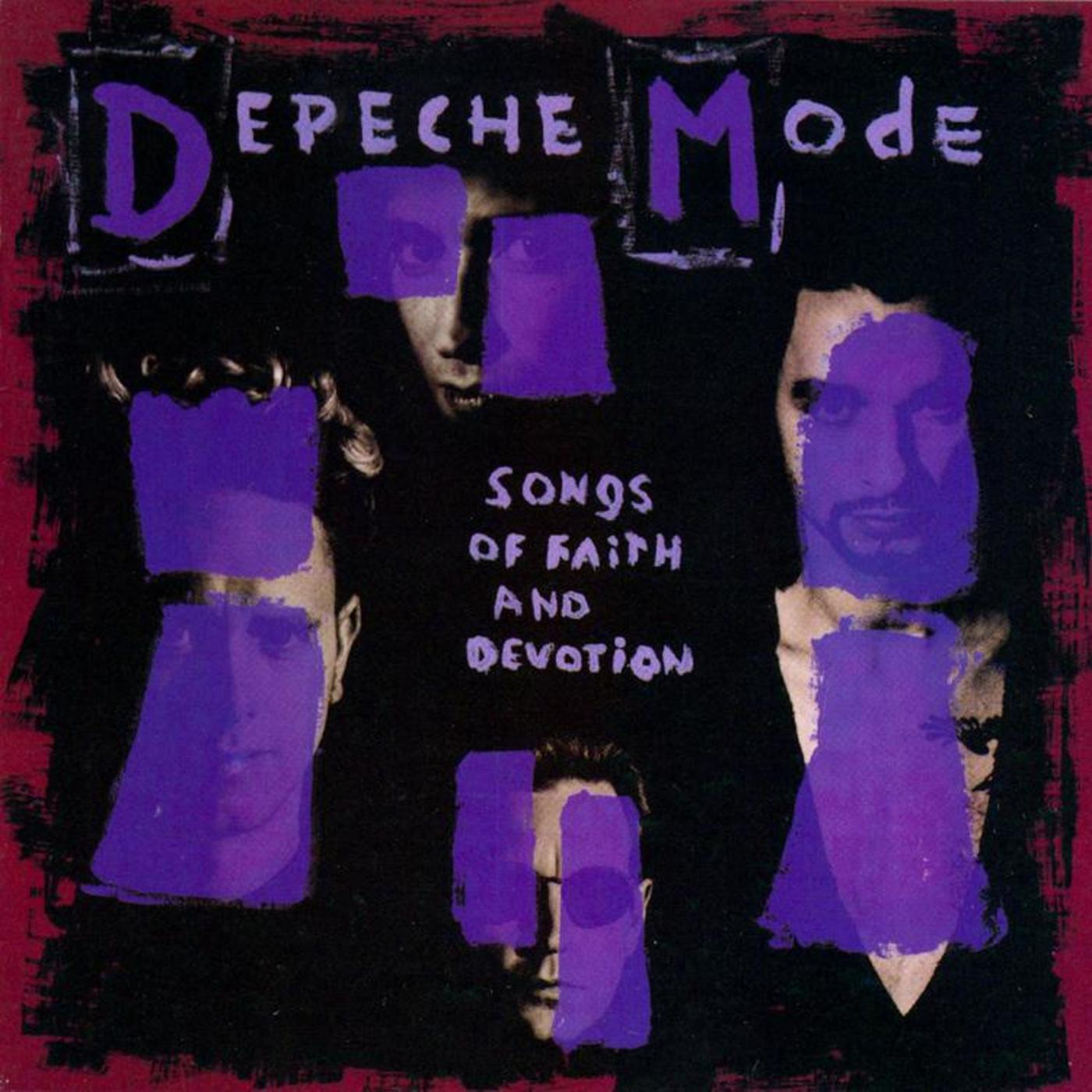 Depeche Mode Songs Of Faith And Devotion Rhino