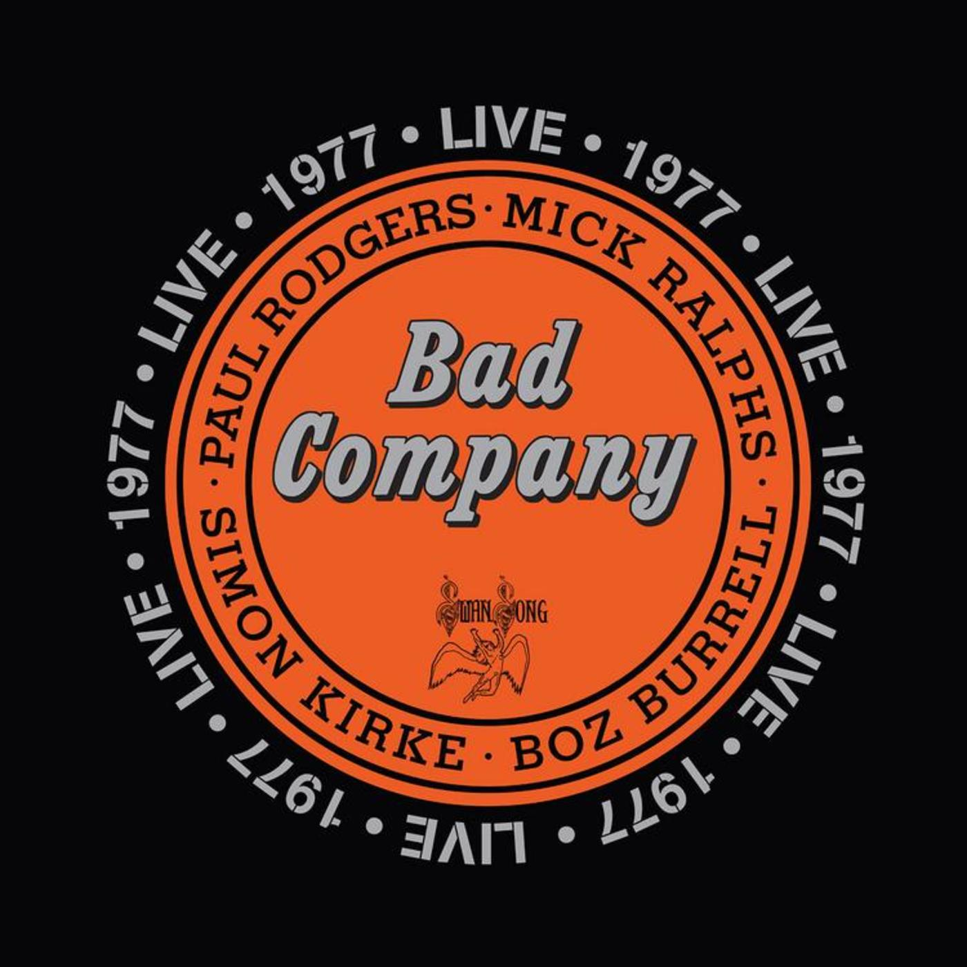 Bad Company Live In 1977