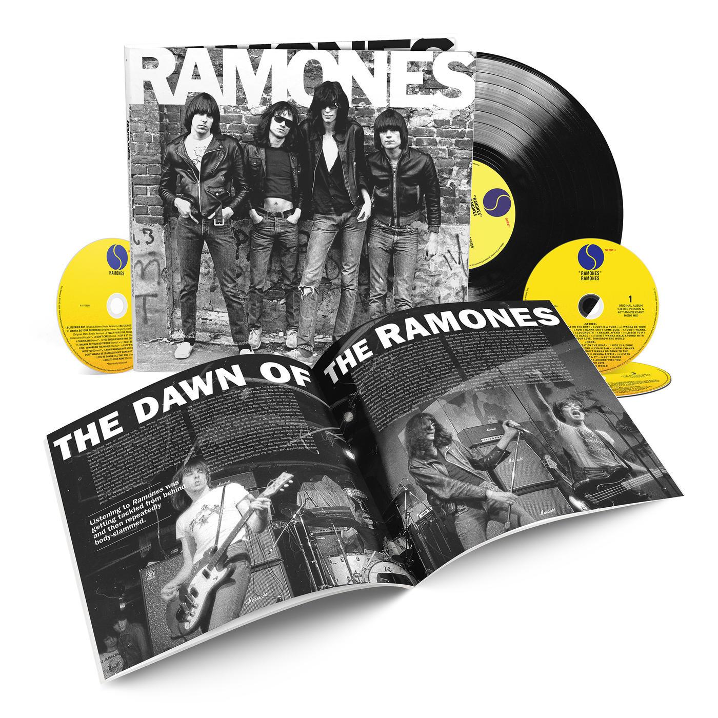 Ramones Ramones 40th Anniversary Deluxe Rhino
