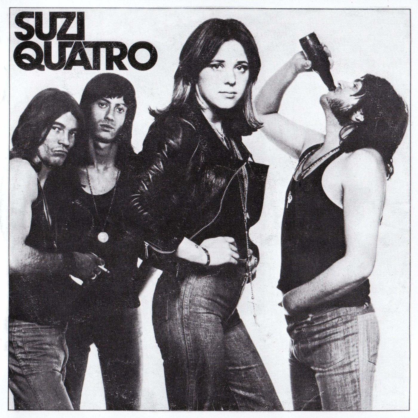 10 Images of Rocks Bassist Babe, Suzi Quatro - I Love