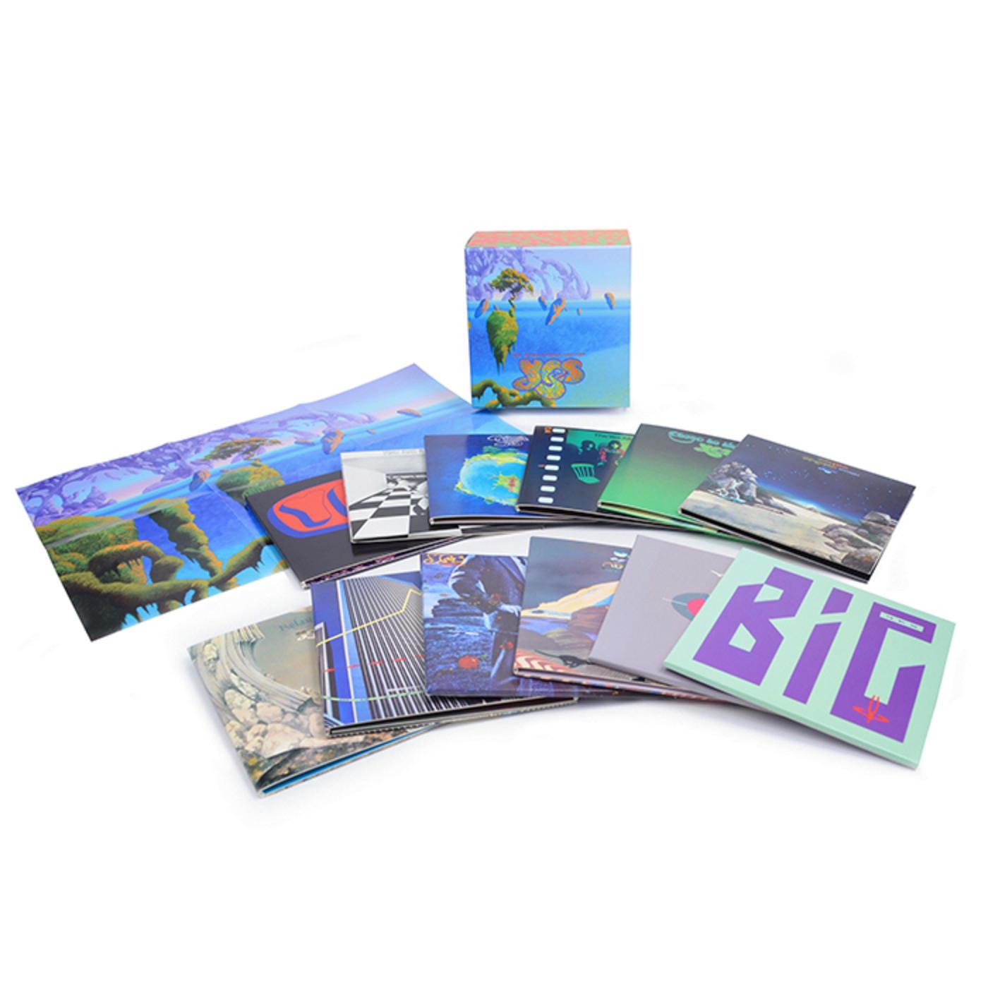 Yes - The Studio Albums 1969-1987   Rhino