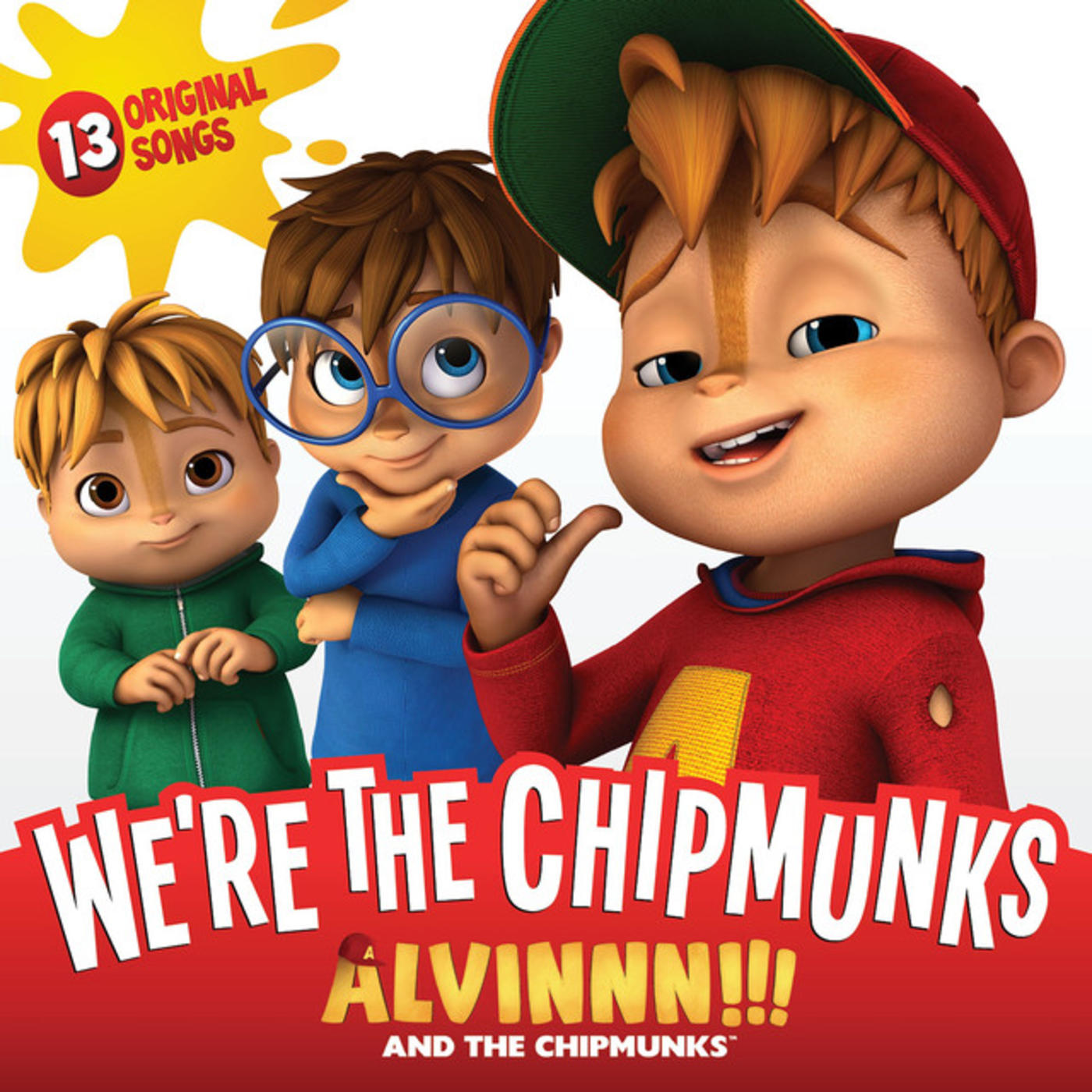 Now Available: Alvin and the Chipmunks, We\'re the Chipmunks | Rhino