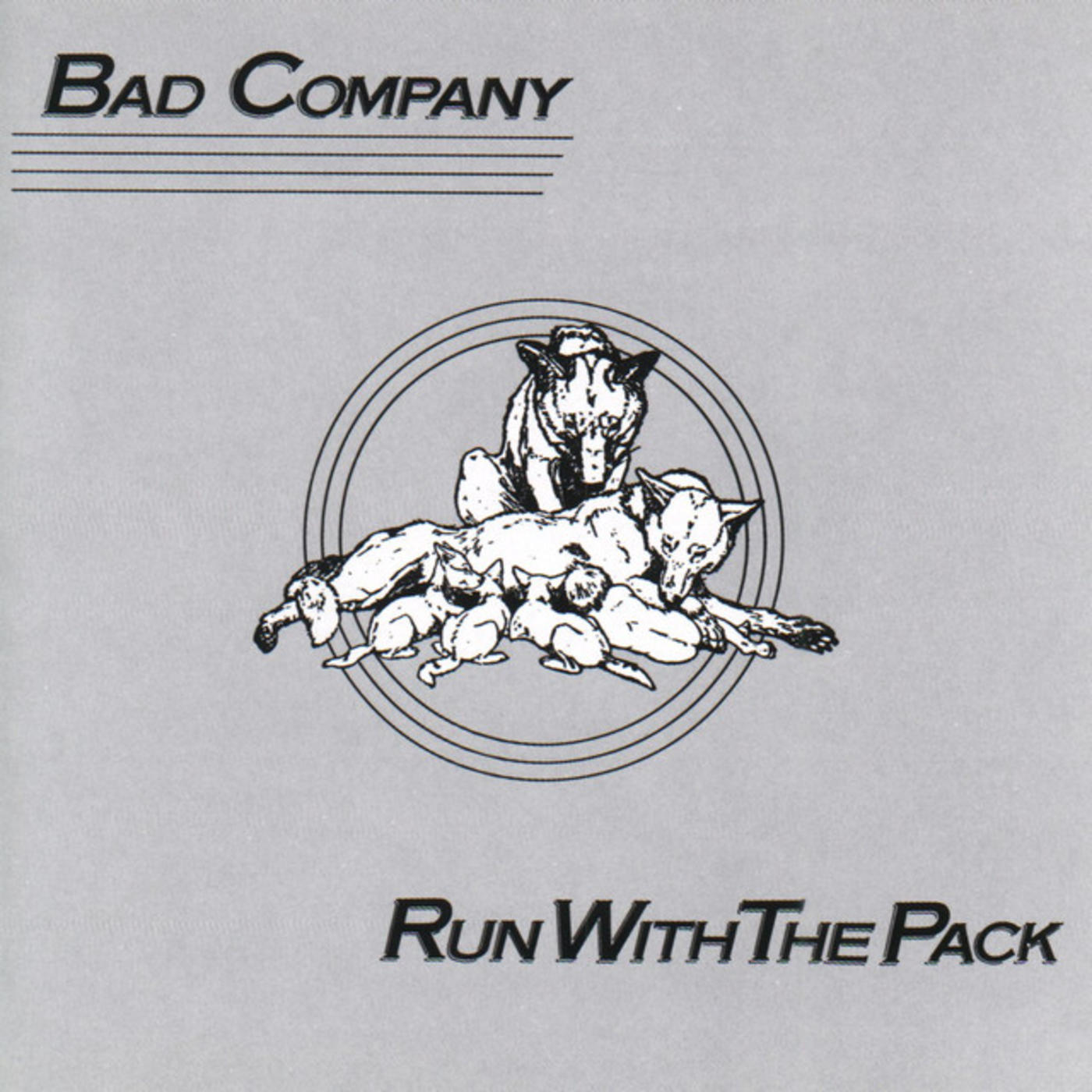 happy 40th bad company run with the pack rhino. Black Bedroom Furniture Sets. Home Design Ideas
