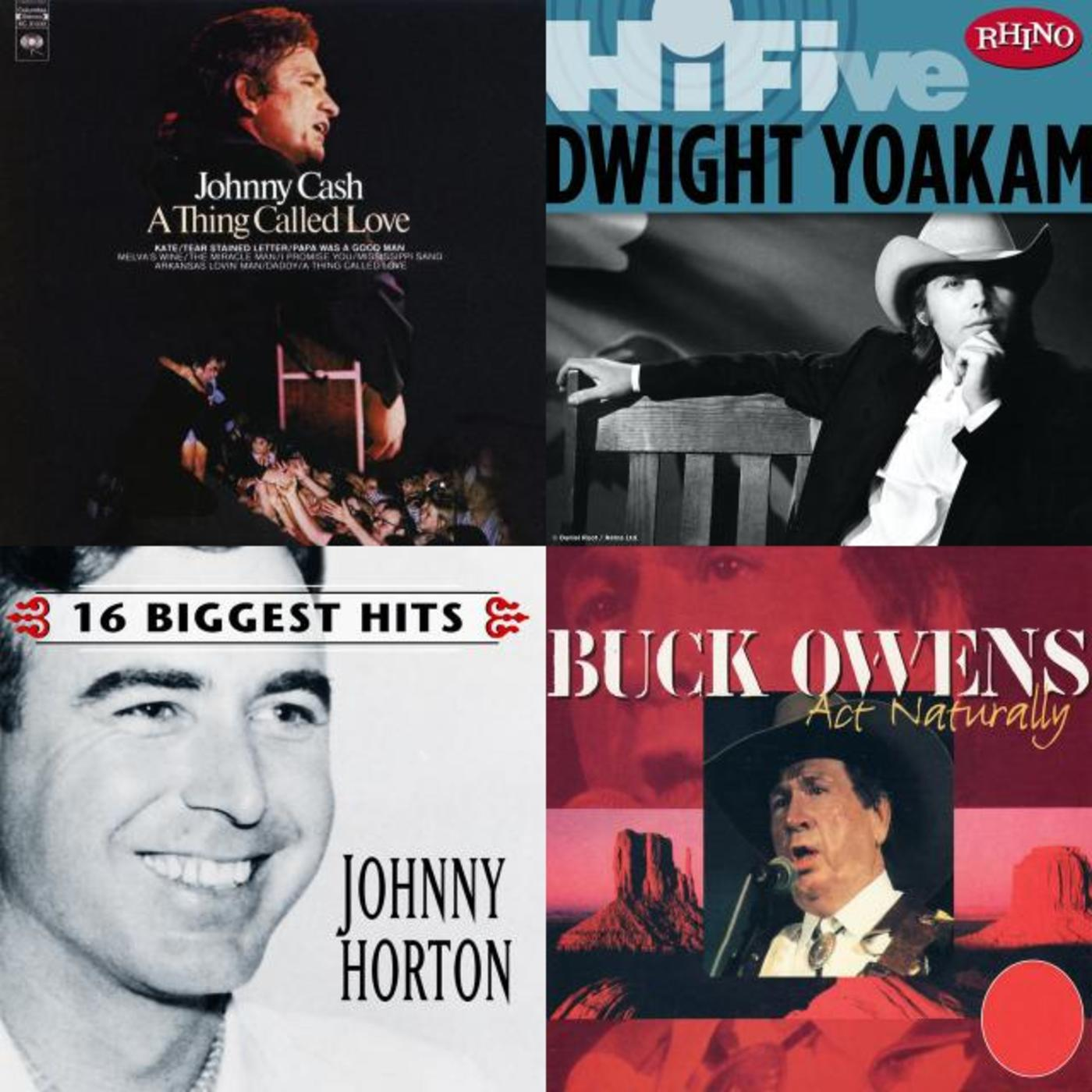 Dan Epstein's Honky Tonk Playlist - Johnny Horton, Dwight Yoakam, Buck Owens, Johnny Cash, Tanya Tucker, Merle Haggard, Glen Campbell, Dave Edmunds, Elvis Costello and The Attractions