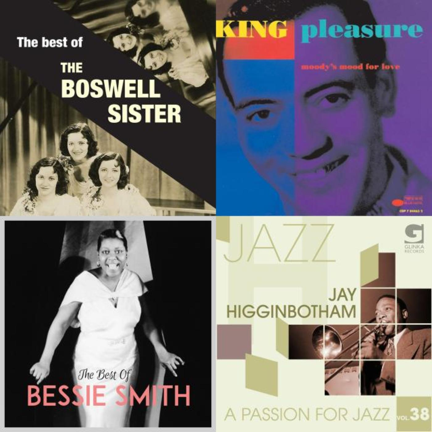 JazzSingers - Louis Armstrong, Cab Calloway, Billy Eckstine, Buddy Baker Orchestra, King Pleasure, Bessie Smith, The Doswell Sisters, Ella Fitzgerald, Johnny Hartman, Sarah Vaughan
