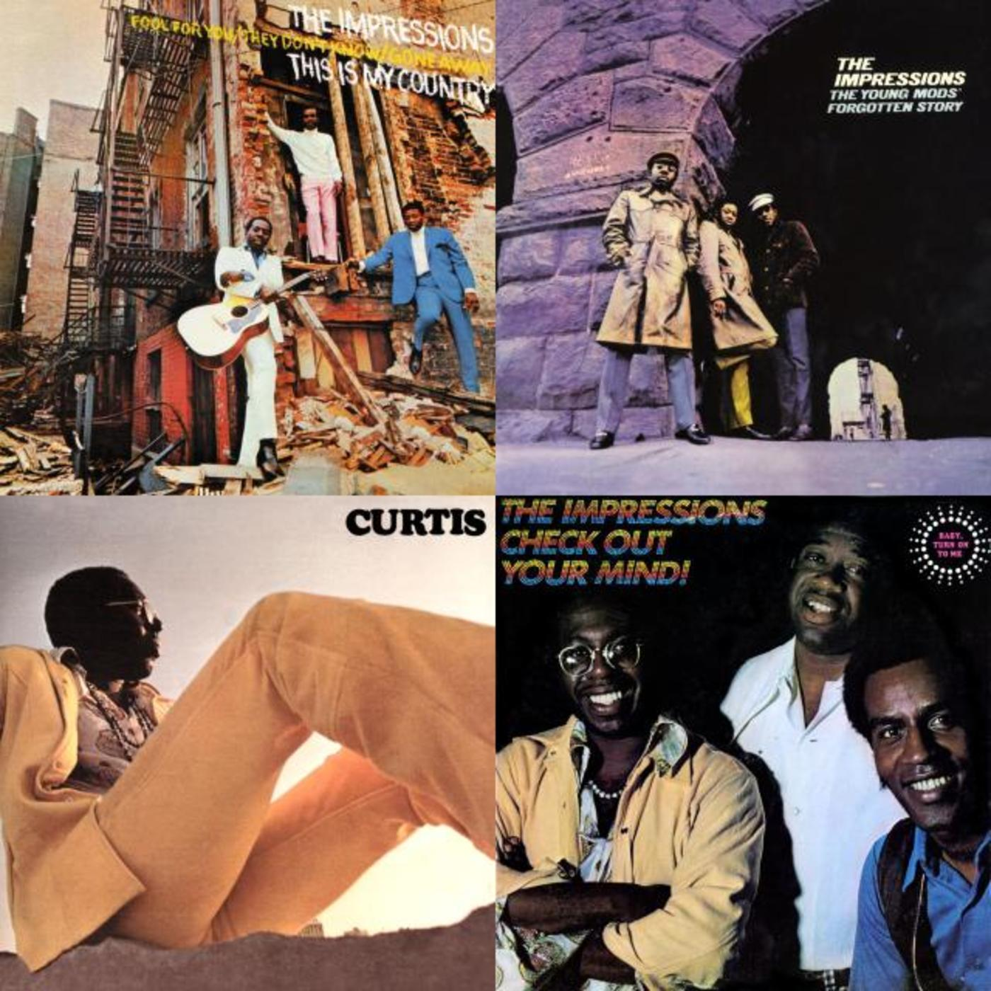 People Get Ready: It's A Curtis Mayfield Playlist - The Impressions, Curtis Mayfield