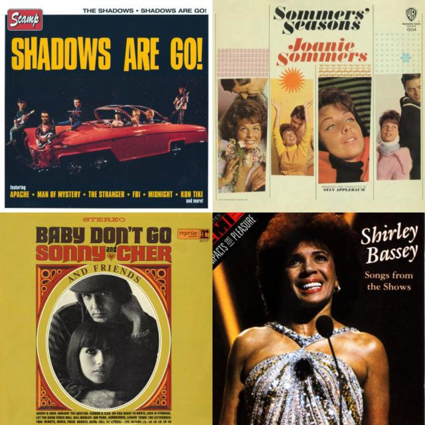 Something To Do With Spring   Joanie Sommers, The Shadows, Shirley Bassey,  The