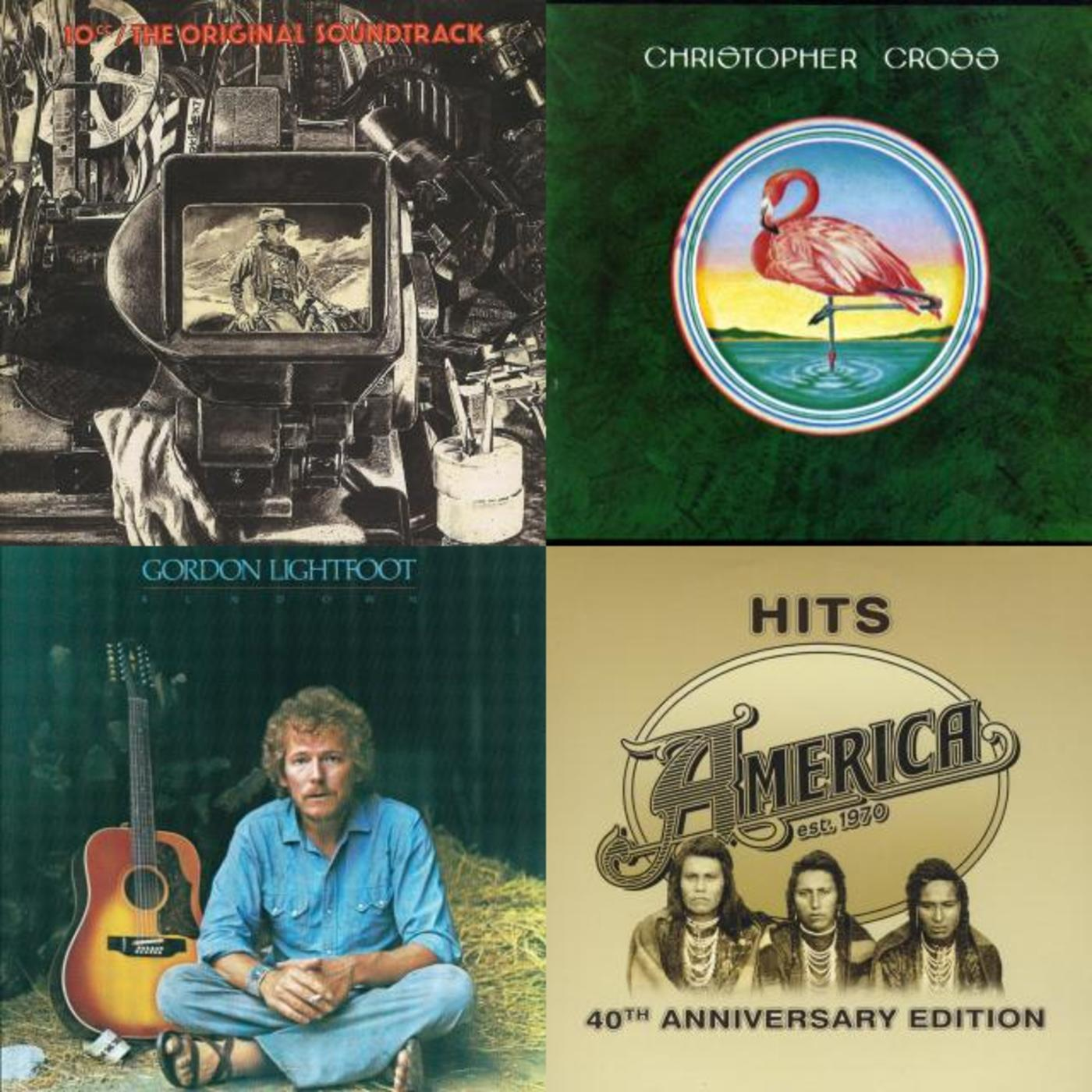 Yacht Rock Etc - Christopher Cross, America, 10cc, Gordon Lightfoot, Seals and Crofts, Starbuck, Billy Ocean, Toto, Gerry Rafferty, The Doobie Brothers, Steely Dan
