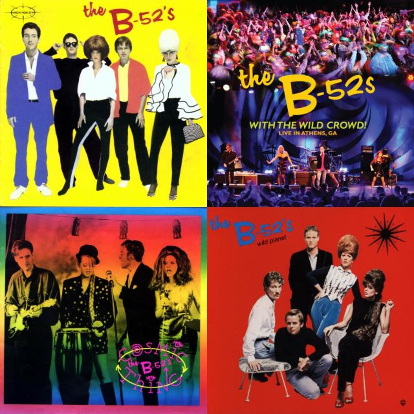 the b-52s discography