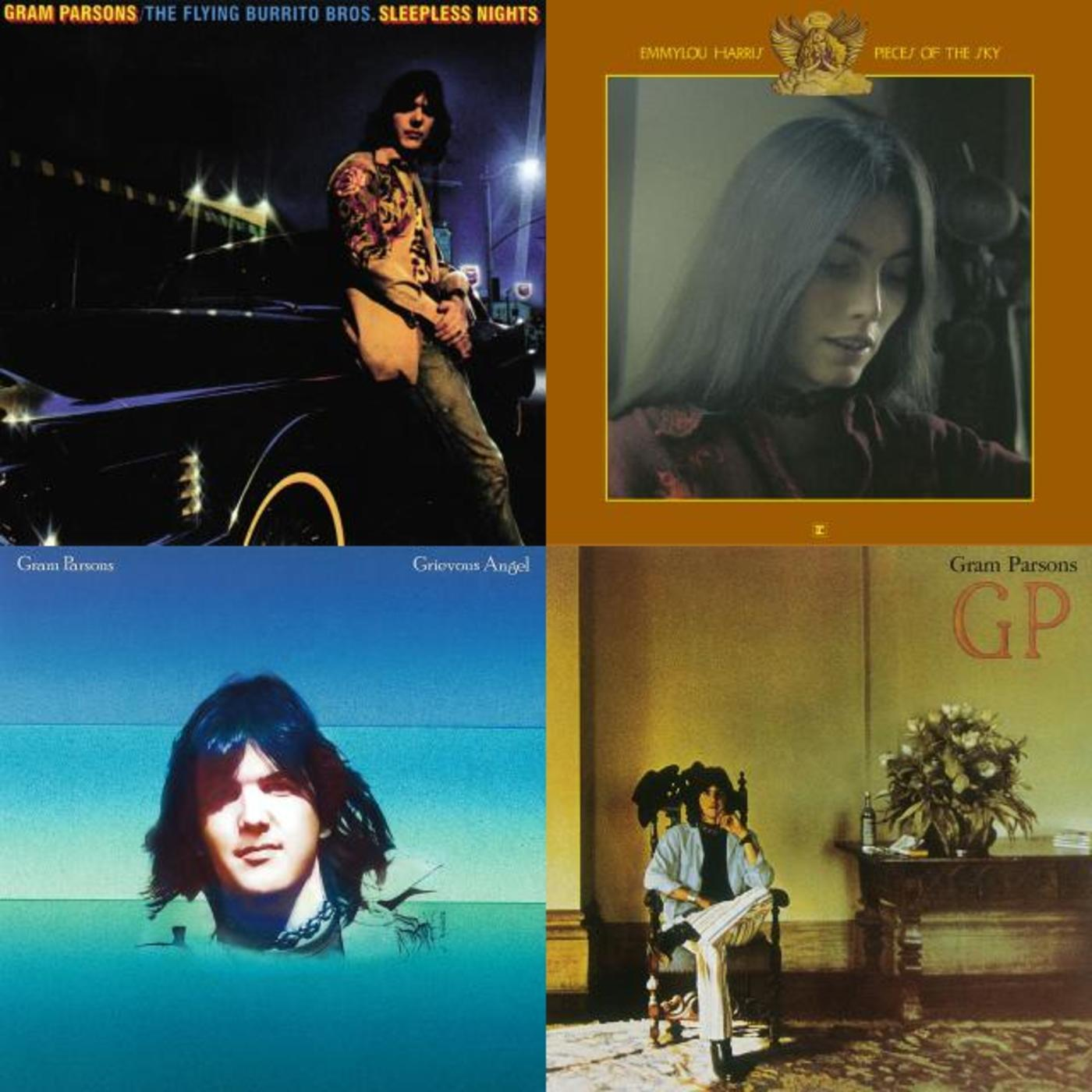 Happy Birthday, Emmylou Harris - Gram Parsons, Emmylou Harris, Mark Knopfler