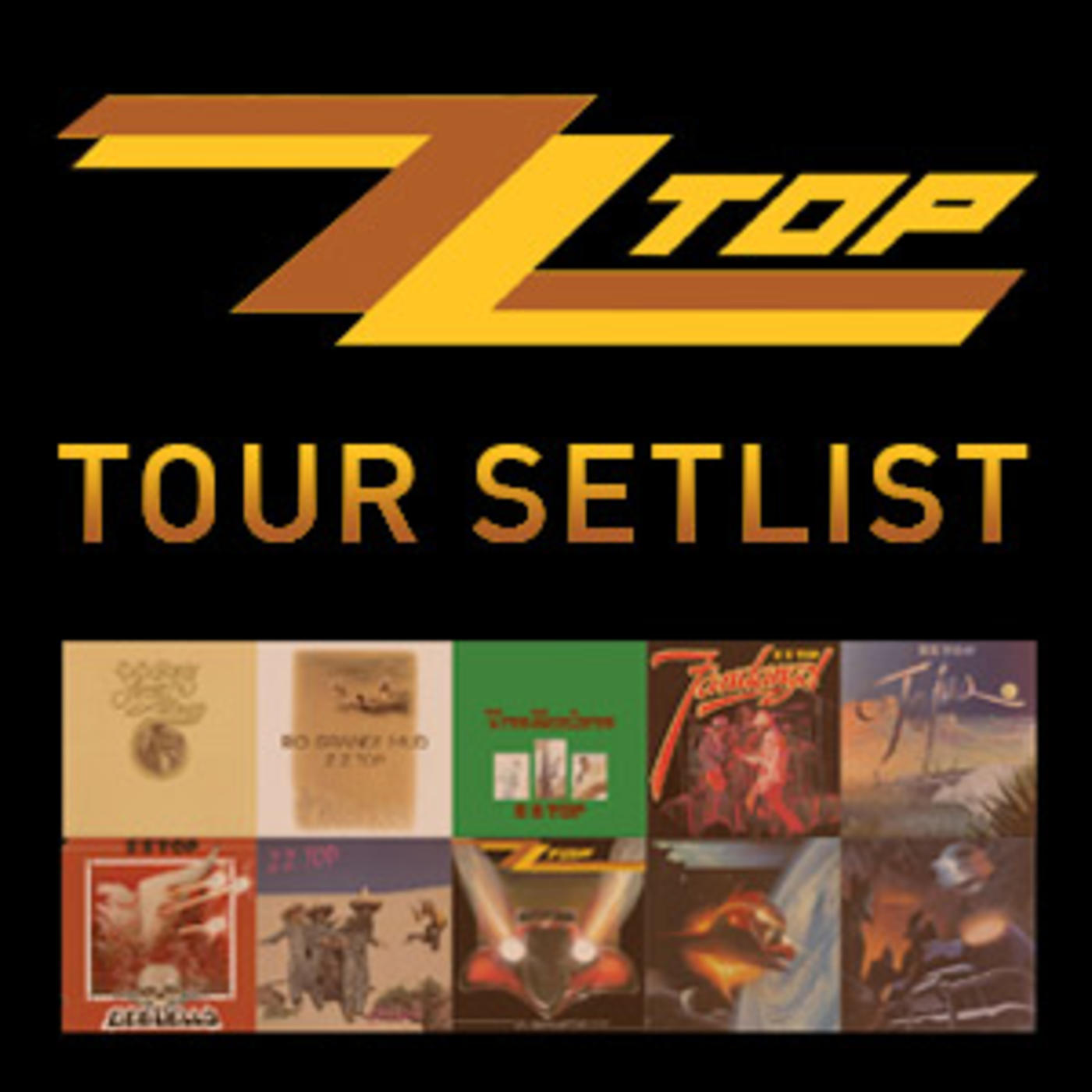 ZZ Top Tour Playlist